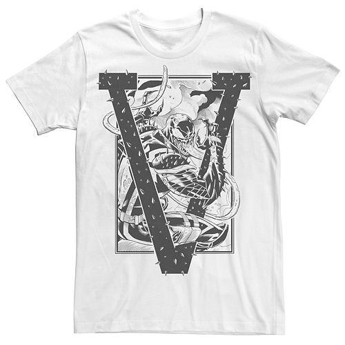 Men's Marvel Universe V Is For Venom Tee