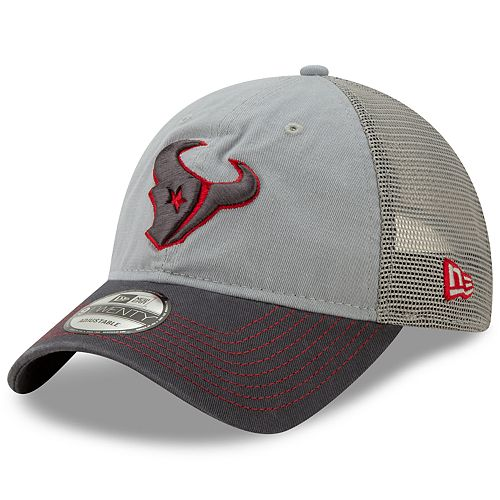 Men's New Era Houston Texans 9Twenty Grayed Pop Cap