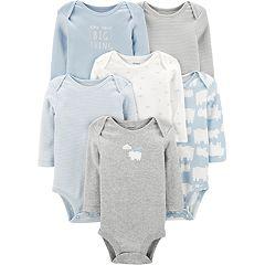 Baby Boy Carter's 6 Pack Polar Bear Bodysuits