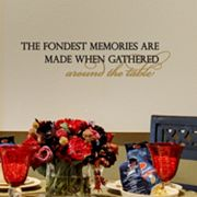 Fondest Memories Wall Sticker
