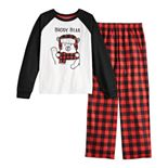 Boys 8-20 Jammies For Your Families Cool Bear Top & Bottoms Pajama Set by Cuddl Duds