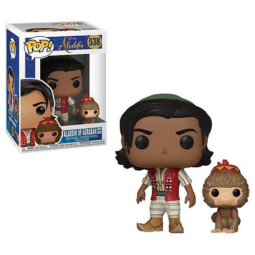 Funko POP! Disney Aladdin and Abu