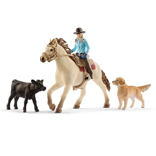 Schleich Farm World Western Riding Multipack