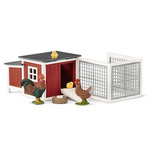 Schleich Farm World Chicken Coop Toy