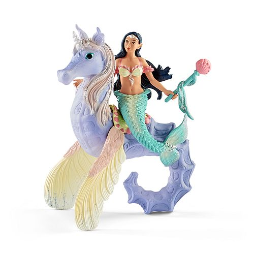Schleich Bayala Isabelle Sea Horse with Rider Toy Figure