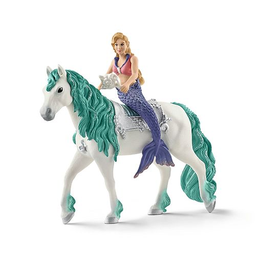 Schleich Bayala Gabriella Mermaid on Horse Toy Figure