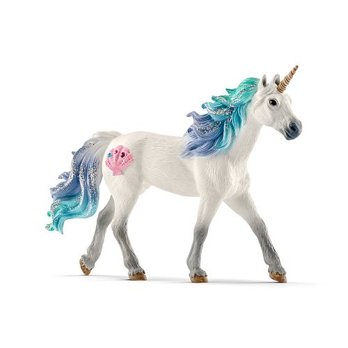 Schleich Bayala Sea Unicorn Stallion Toy Figurine