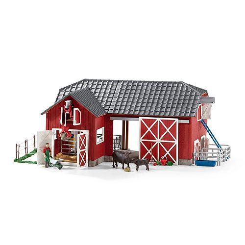 Schleich Farm World Large Red Barn Set