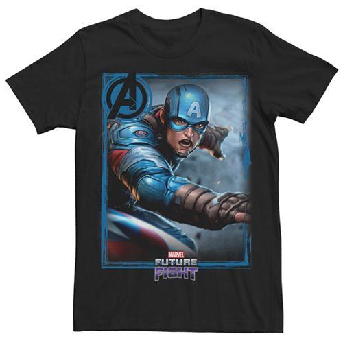 Men's Marvel Future Fight Captain America Graphic Tee