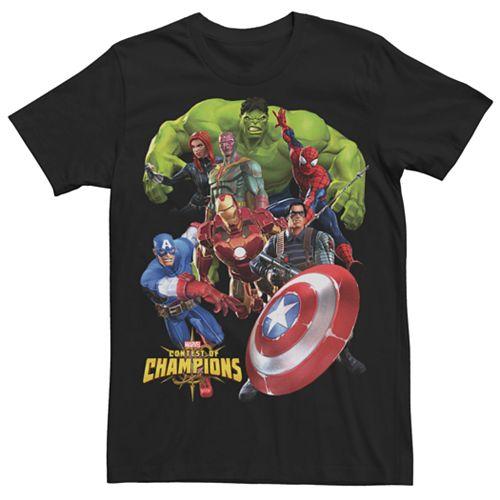Men's Marvel Contest of Champions Avengers Graphic Tee