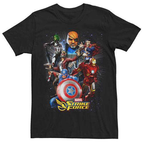Men's Marvel Strike Force Team Graphic Tee