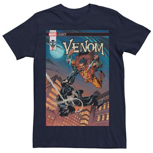 Men's Marvel Venom Comic Graphic Tee