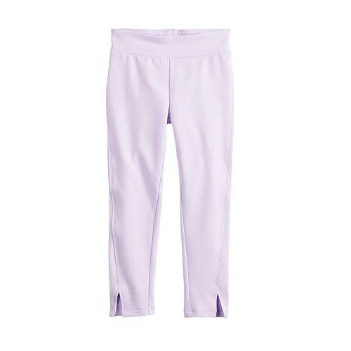 Girls 4-12 Jumping Beans® Split-Hem Leggings