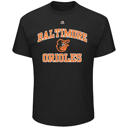 Big & Tall Majestic Baltimore Orioles Heart & Soul Graphic Tee