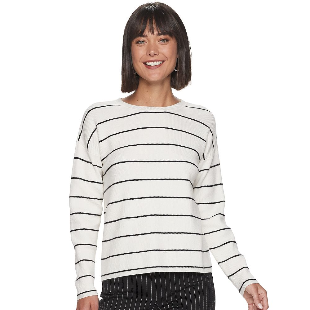 Women's Apt. 9® Ribbed Dolman Pullover Top