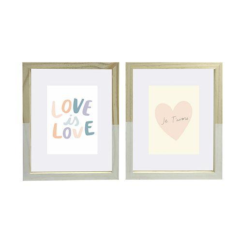LC Lauren Conrad 4x6 Frames (Set of 2)
