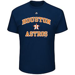 Big & Tall Majestic Houston Astros Heart & Soul Graphic Tee