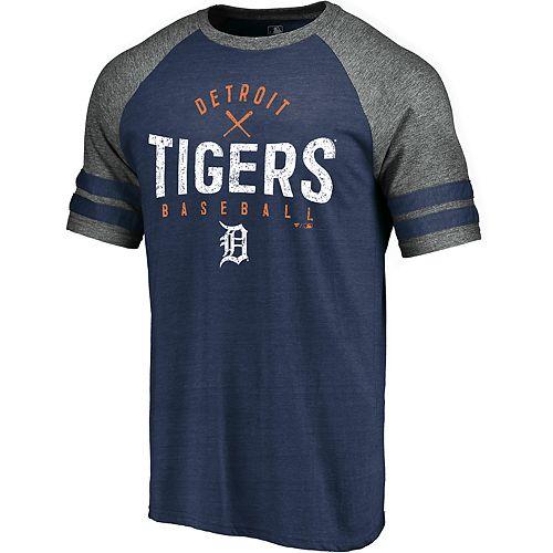Big & Tall Detroit Tigers Raglan Graphic Tee