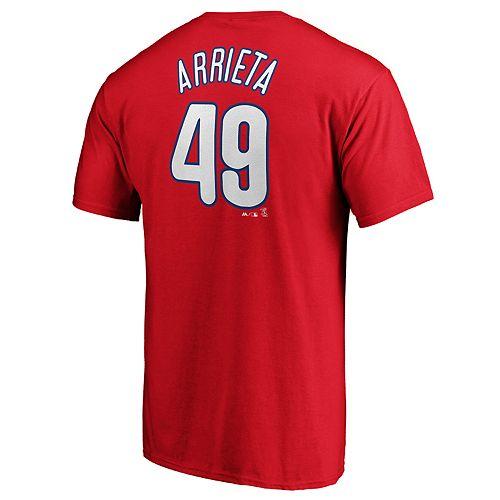 Men's Philadelphia Phillies J Arrieta 49 Tee