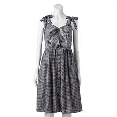 Women's LC Lauren Conrad Button Front Dress