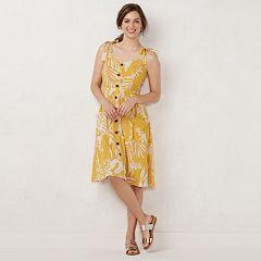 57f386ad9587 Womens LC Lauren Conrad Dresses, Clothing | Kohl's