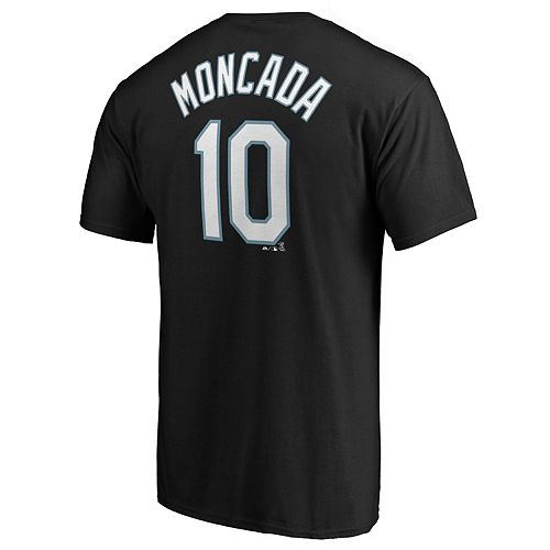 Men's Chicago White Sox Y Moncada 10 Tee