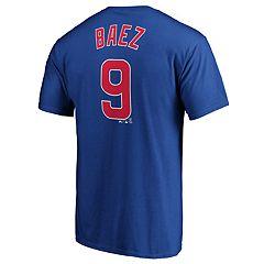 Men's Chicago Cubs J Baez 9 Tee