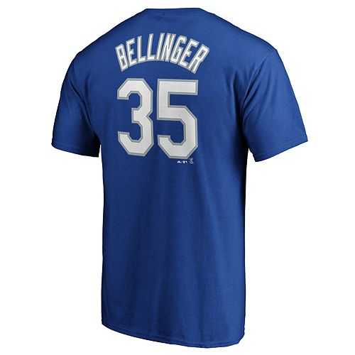 Men's Los Angeles Dodgers C Bellinger 35 Tee
