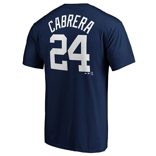 Men's Detroit Tigers M Cabrera 24 Tee