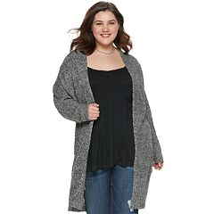 c038f9988f0 Juniors  Plus Size American Rag Easy Open Cardigan