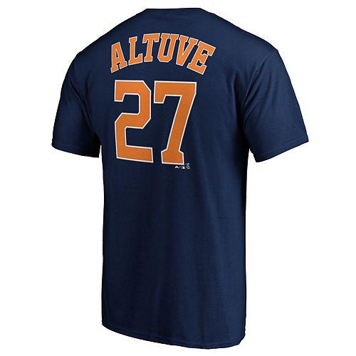 Men's Houston Astros J Altuve 27 Tee