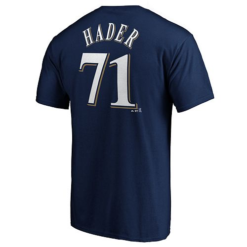 Men's Milwaukee Brewers Josh Hader Player Tee