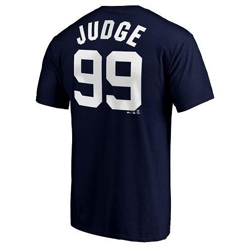 Men's New York Yankees A Judge 99 Tee