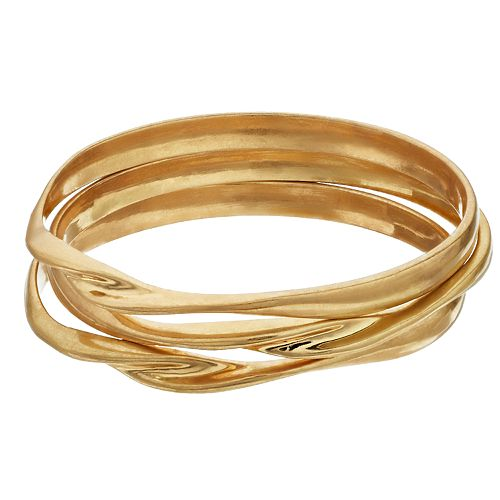 SONOMA Goods for Life™ Metal Bangles (3 pack)