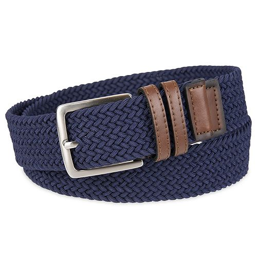 Men's Dockers® Braided Stretch Navy Belt