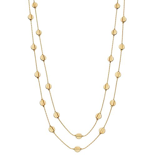 SONOMA Goods for Life™ Discs Long Layered Necklace