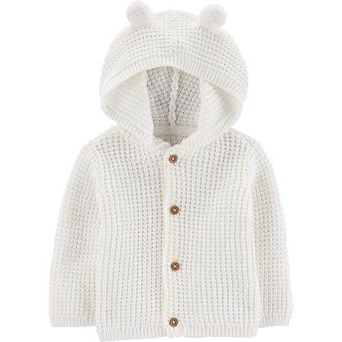 Baby Carter's Knit Hooded Cardigan