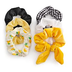 SO® Pineapple Hair Scrunchie Set of 6