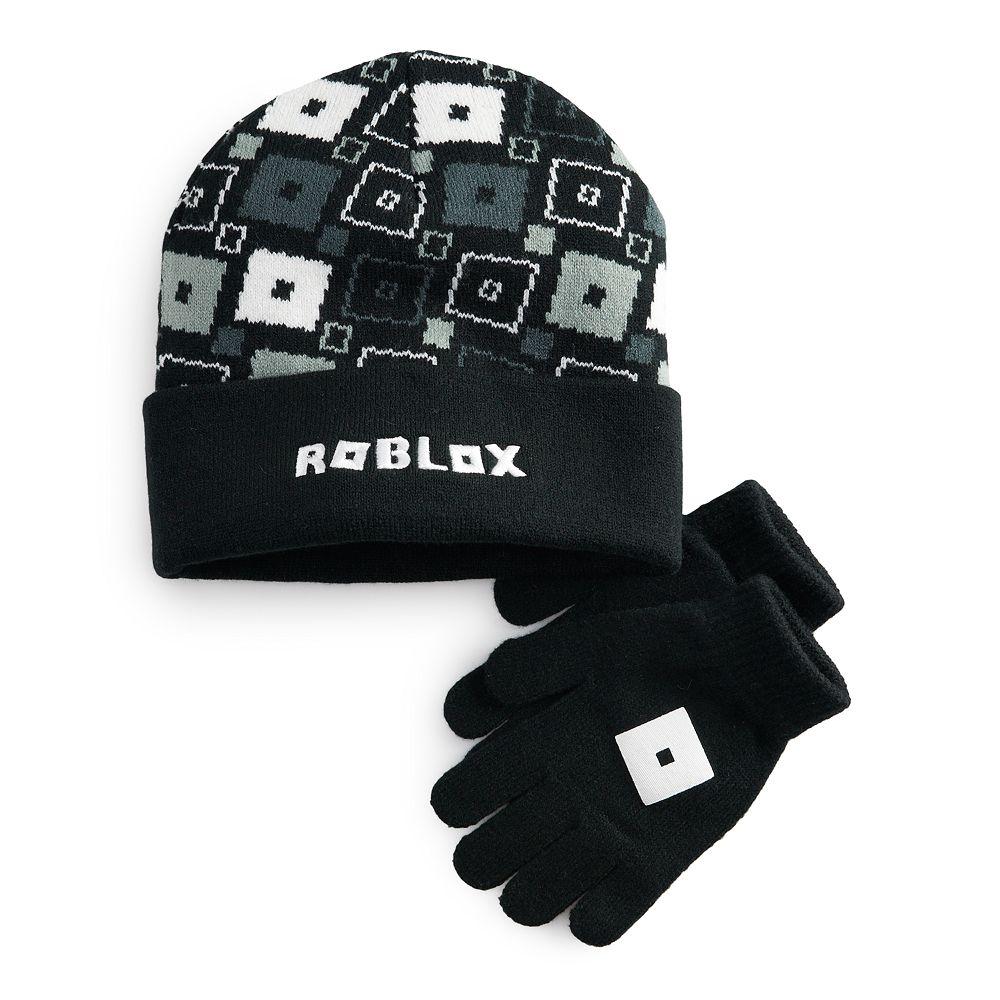 Boy's Roblox Knit Hat & Glove Set
