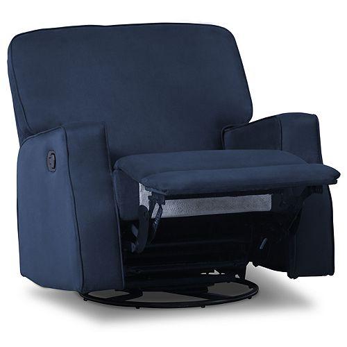 Delta Children Caleb Nursery Recliner Glider Swivel Chair