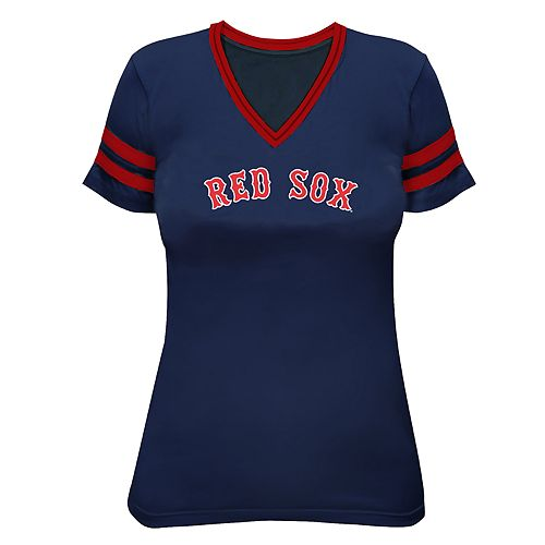 Plus Size Boston Red Sox Wordmark Graphic Tee