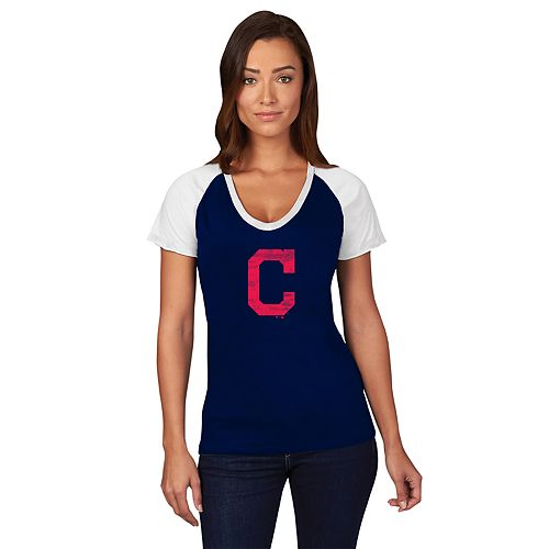 Plus Size Cleveland Indians Paid Our Dues Graphic Tee