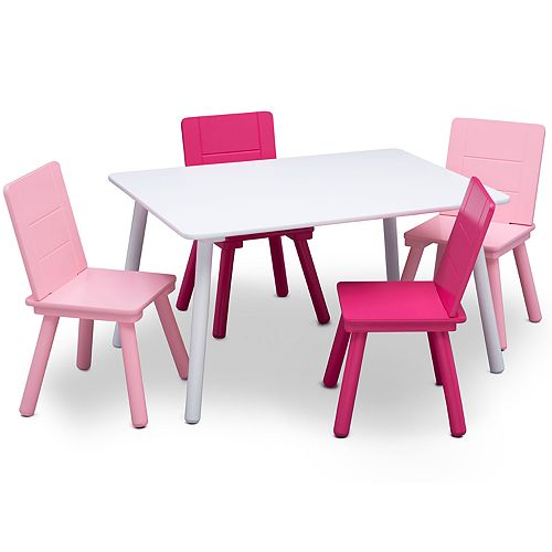 Delta Children Kids' Table and 4 Chair Set
