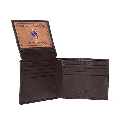 Men's Stone & Company Leather Wallet
