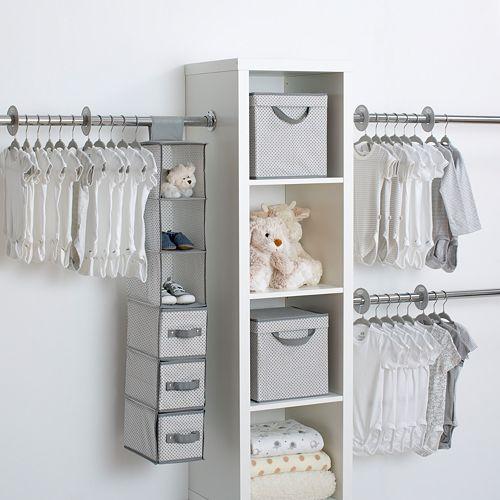 Delta Children 48-Piece Nursery Storage Set