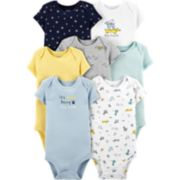Baby Boy Carters 7-Pack Dog Original Bodysuits