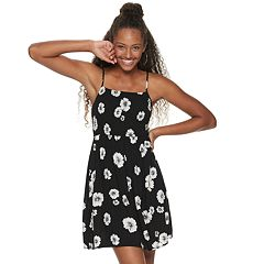 4300686e7f Juniors Black Fit And Flare Dresses