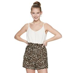 24c7c25aa Junior's Lily Rose Romper with Camisole Top