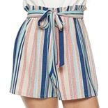 Junior's Lily Rose Romper with Camisole Top