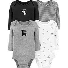 Baby Carters 4-Pack Dinosaur Original Bodysuits